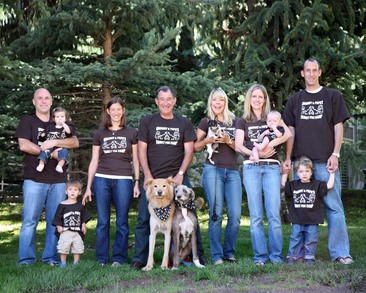 Grammy And Papa's Family Fun Camp T-Shirt Photo