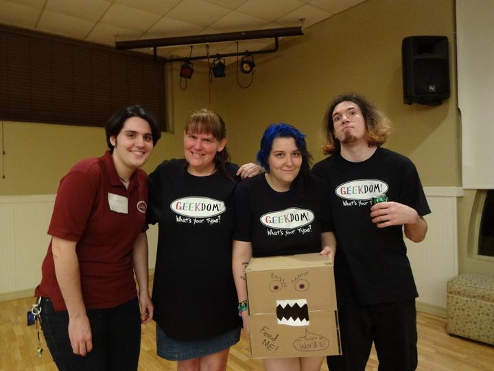 The Geekdom! Crew T-Shirt Photo