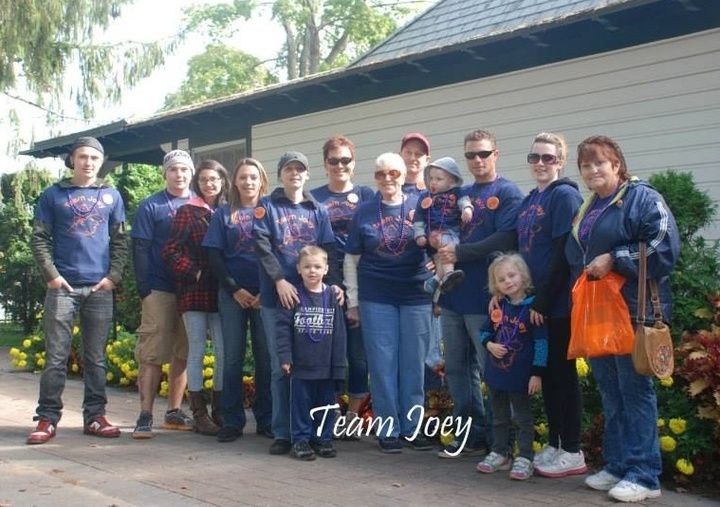 Team Joey T-Shirt Photo