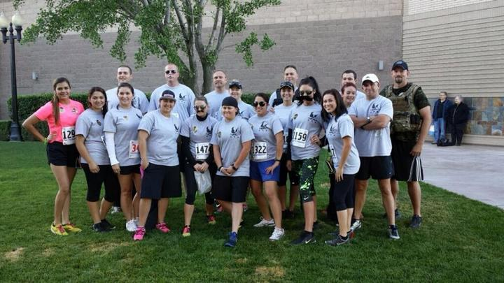 Stanislaus County Peace Officer Memorial Run 2013 T-Shirt Photo