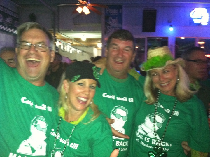 Can't Wait Till Ronny Mac Is Back   Irish Weekend T-Shirt Photo