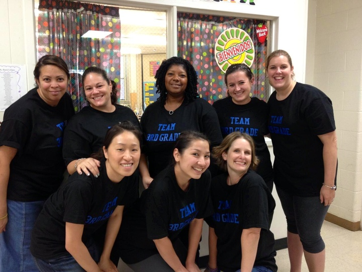 Third Grade Team T-Shirt Photo