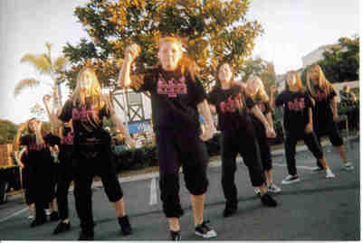Youth Hip Hop Dance Team Performing T-Shirt Photo