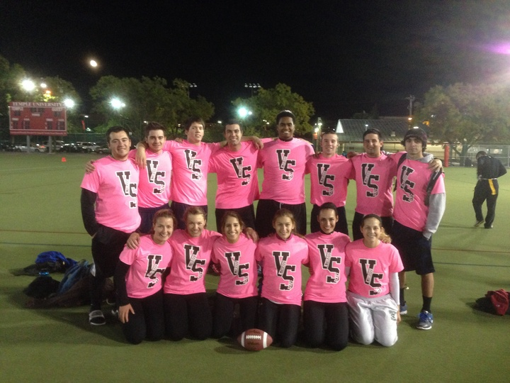 Victorious Secret After Out First Game With Our Custom Ink T Shirts! T-Shirt Photo