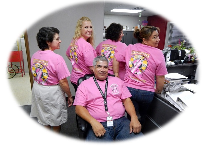 Windcrest Breast Cancer Awareness T-Shirt Photo