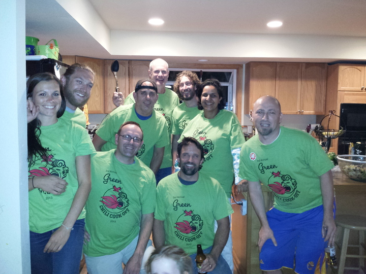 Green Chili Cookoff T-Shirt Photo