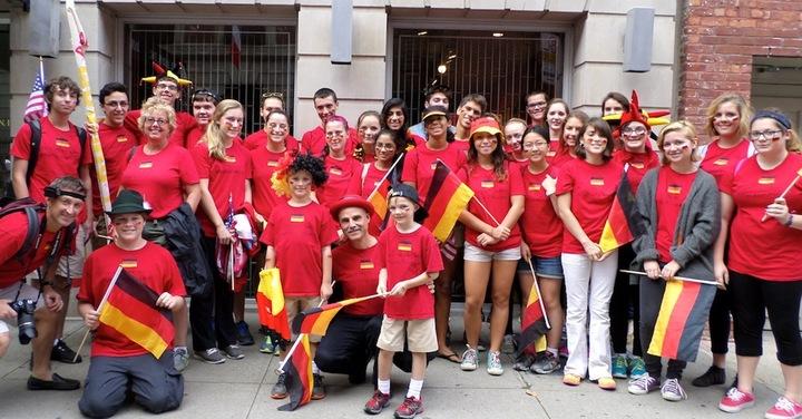 Niskayuna High School German Program Rockt! T-Shirt Photo