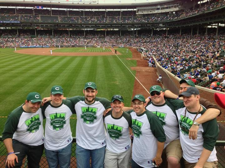 Windy City Bachelor Party   Wrigley Field T-Shirt Photo