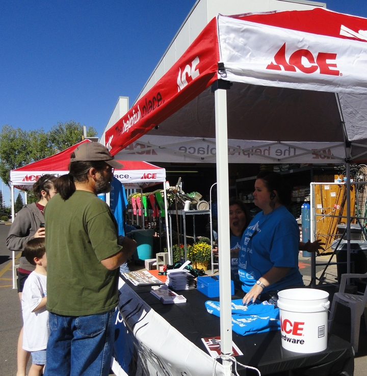 'Care'nival Photo Bombing @ Ace Hardware & Paint Of Laramie, Wy T-Shirt Photo