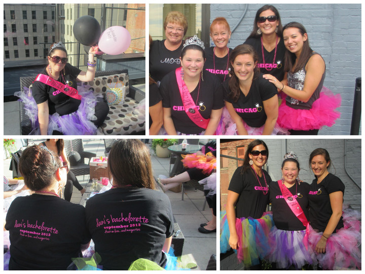 Dani's Bachelorette In Chicago T-Shirt Photo
