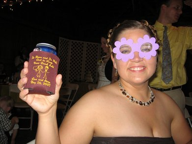 Beer Koozies At Weddings Are Fun T-Shirt Photo