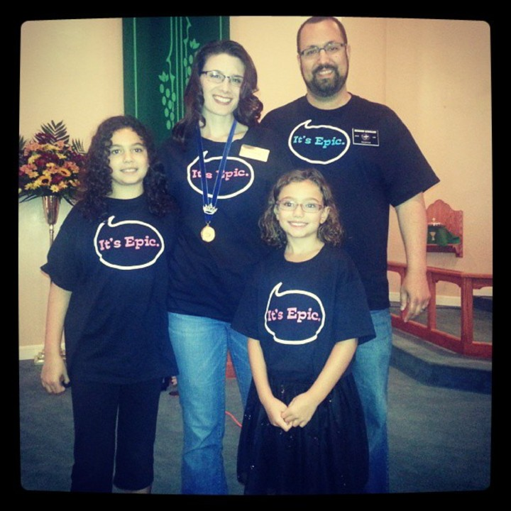 Epic Family Sporting' Epic Custom Ink.  T-Shirt Photo