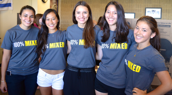 The Ladies Of The Northwestern Mixed Race Student Coalition! T-Shirt Photo