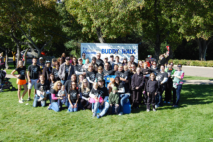 Buddy Walk 2013   Zoe Zoe Bears T-Shirt Photo