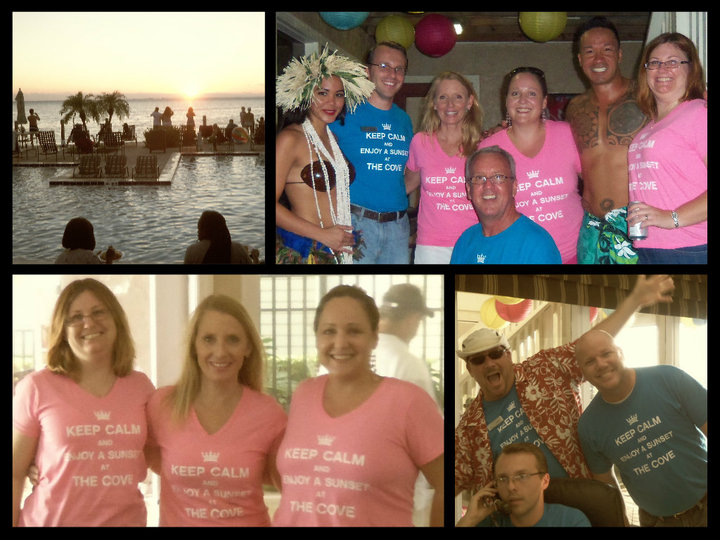 Sunset Party @ The Cove T-Shirt Photo