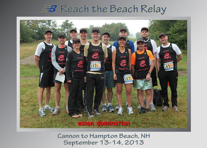 Reach The Beach, Team Asian Domination T-Shirt Photo