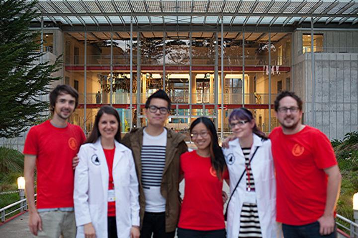 Sleepy Science Hack Day Co Organizers T-Shirt Photo