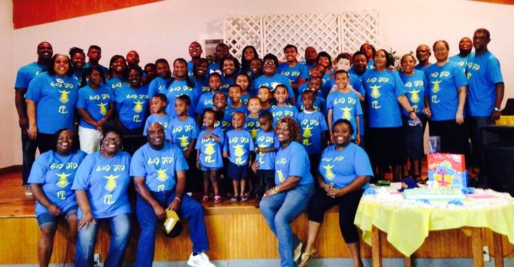 The Bickham Family T-Shirt Photo