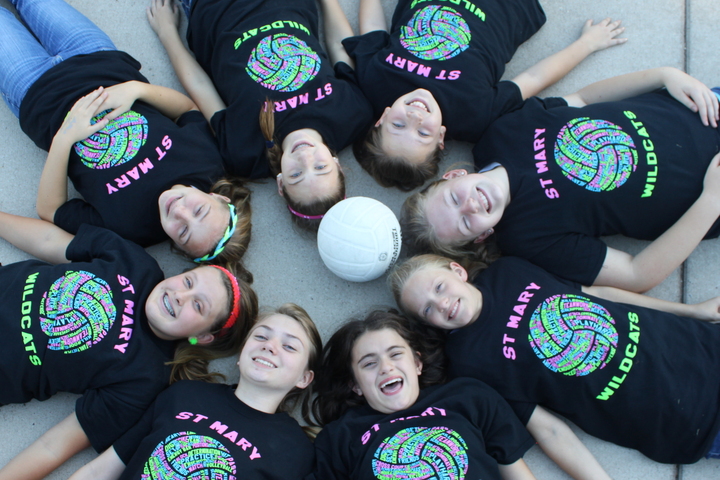 Volleyball Rocks T-Shirt Photo