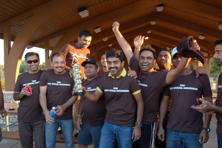2013 Hind Cricket Tournament Runners Up! T-Shirt Photo