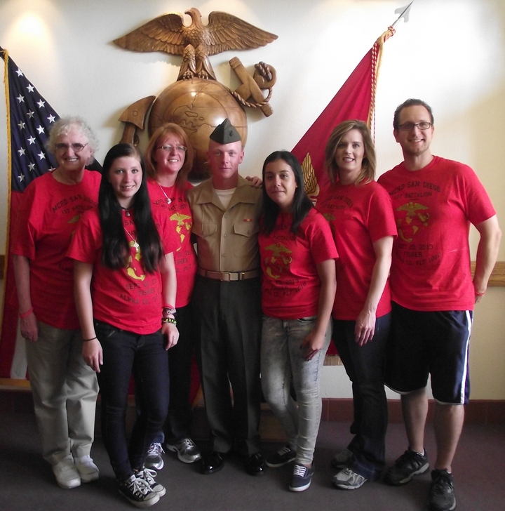 Oooraaaah!!! My Marines Boot Camp Graduation T-Shirt Photo
