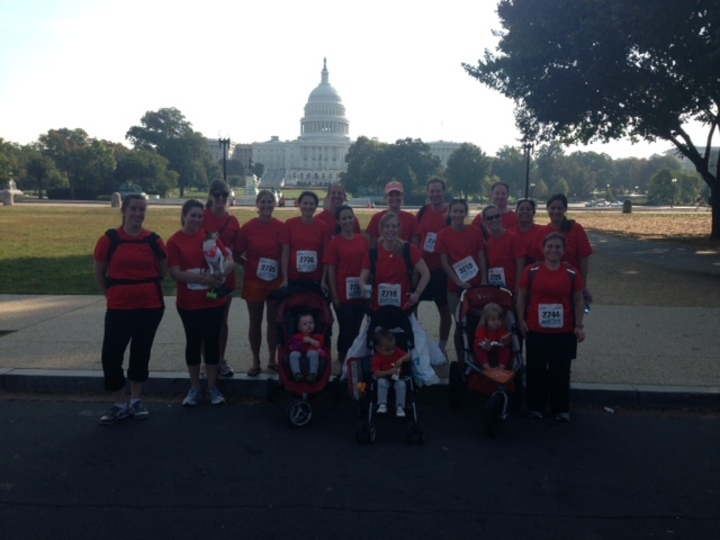 Team Eliana Walks In The First Ever Race For Every Child T-Shirt Photo