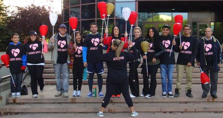 Leukemia And Lymphoma Society Light The Night Walk   Raida's Angels T-Shirt Photo