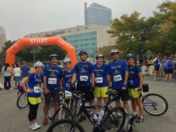 Geared Up Bike Ms Nyc 2013 T-Shirt Photo
