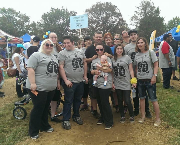 Great Strides Walk For Cystic Fibrosis T-Shirt Photo