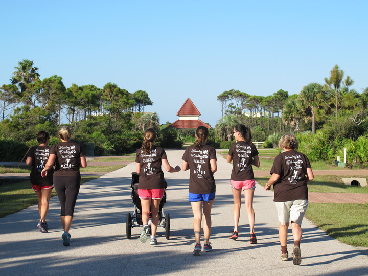 Morning Run With The Bride T-Shirt Photo