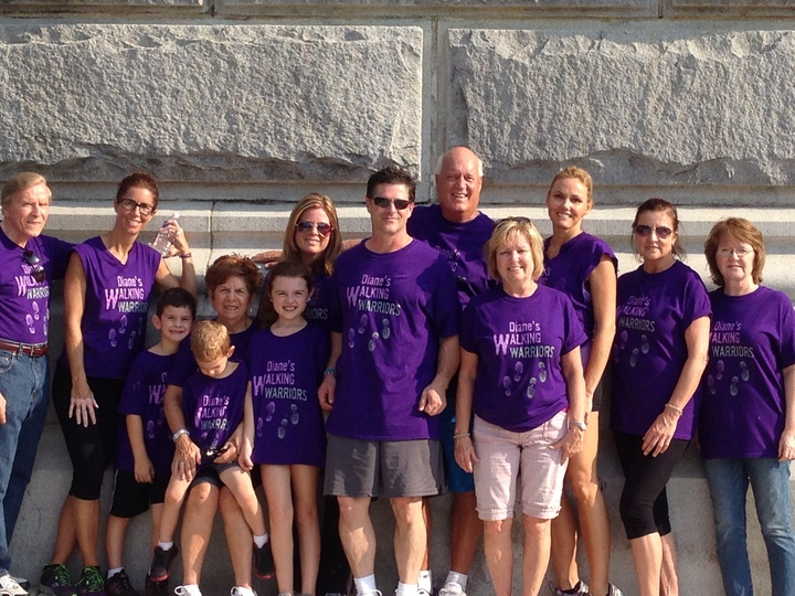 Walking For A Cure For Multiple Myeloma T-Shirt Photo