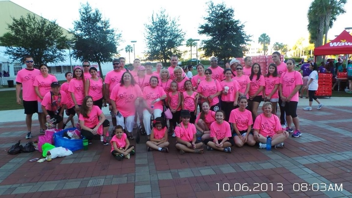 Susan G Komen Race For The Cure Walk  T-Shirt Photo