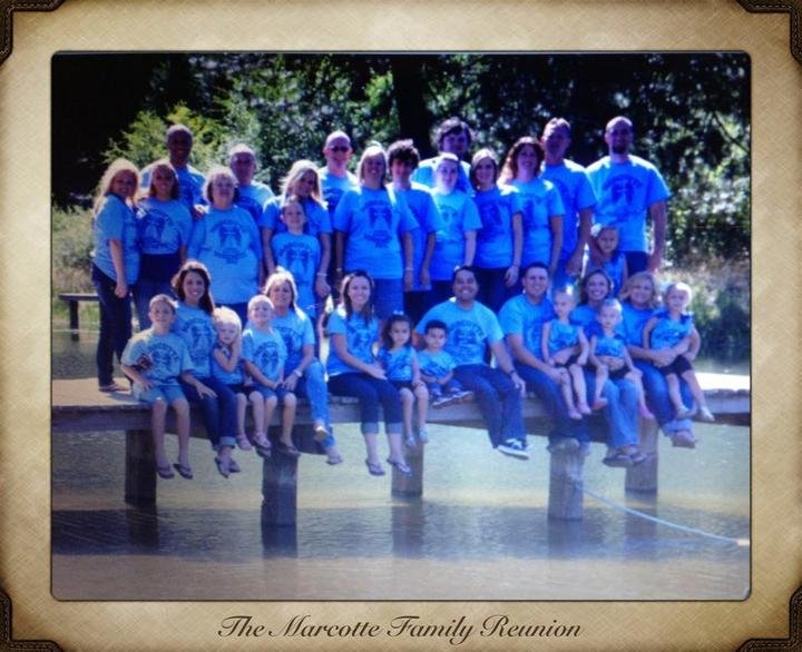 2013 Marcotte Family Reunion T-Shirt Photo