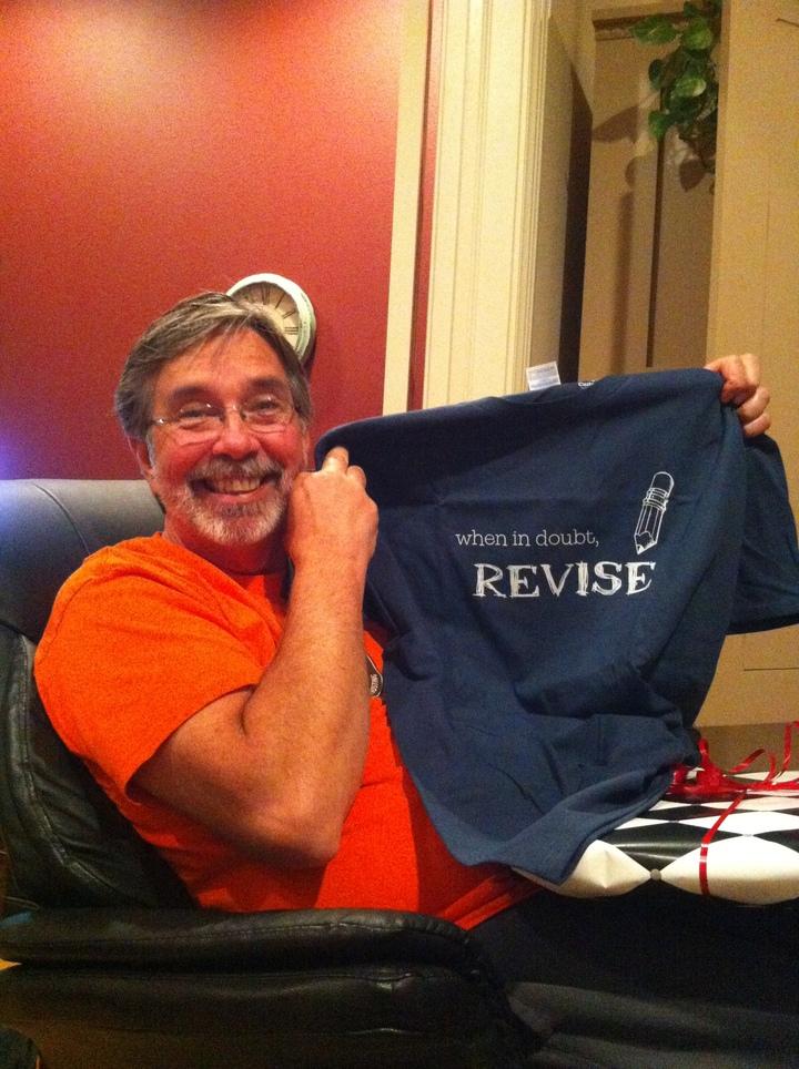 Happy Birthday, English Teacher Dad! T-Shirt Photo