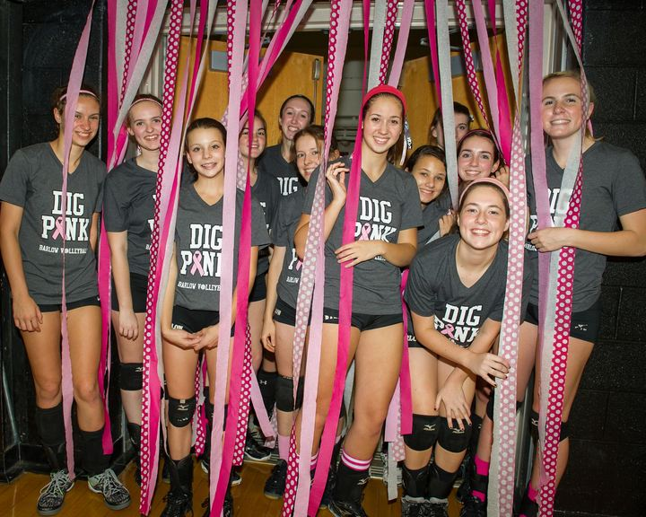 Barlow Dig Pink! 12 0 And Still Undefeated!!  T-Shirt Photo