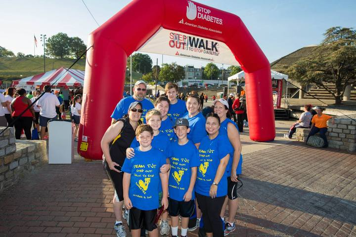 Team Tjt   Step Out: Walk To Stop Diabetes T-Shirt Photo