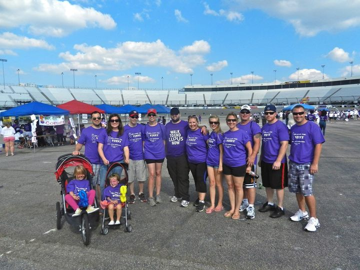2013 Lupus Walk T-Shirt Photo