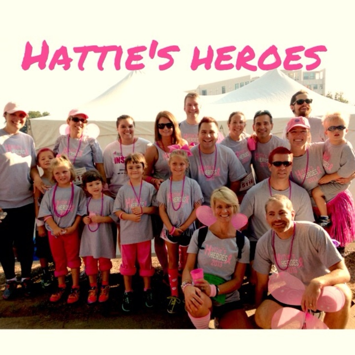 Race For The Cure  Team Hattie's Heroes T-Shirt Photo