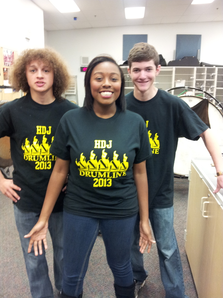 Hdj Drumline Seniors T-Shirt Photo