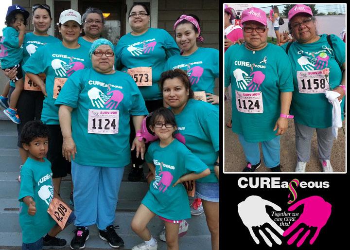 Breast Cancers Warriors & Survivors Unite! T-Shirt Photo
