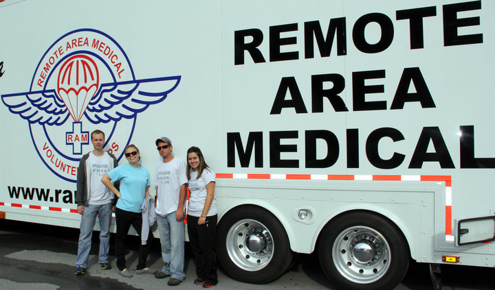 Law Students Volunteer At Ram Clinic T-Shirt Photo
