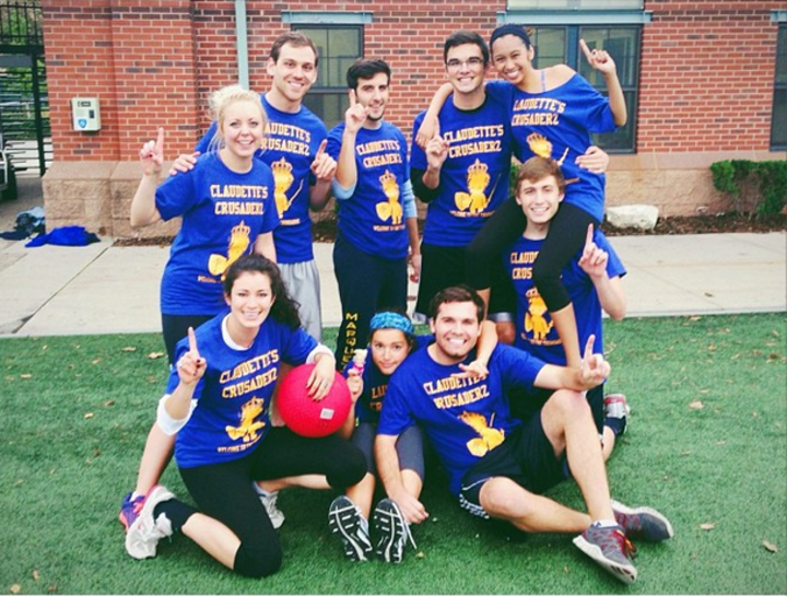 Claudette's Crusaderz Are Kickball Champions! T-Shirt Photo