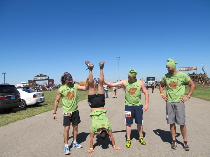 Kansas Tough Mudder   Pre Game Prep T-Shirt Photo