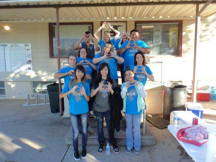 Hosa Cares!! T-Shirt Photo