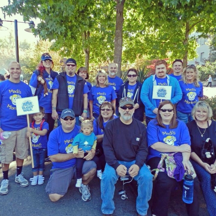 2013 Buddy Walk   Madi's Monkeys T-Shirt Photo