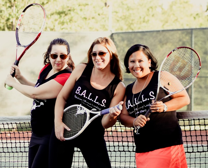 B.A.L.L.S.   Cocktail Tennis T-Shirt Photo