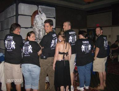 2007 True Dungeon T-Shirt Photo