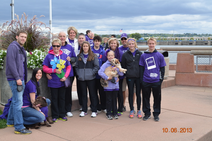 Walk To End Alzheimers T-Shirt Photo