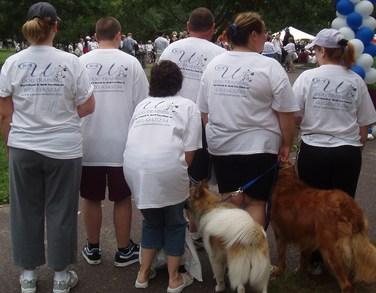 Mspca Walk For Animals T-Shirt Photo