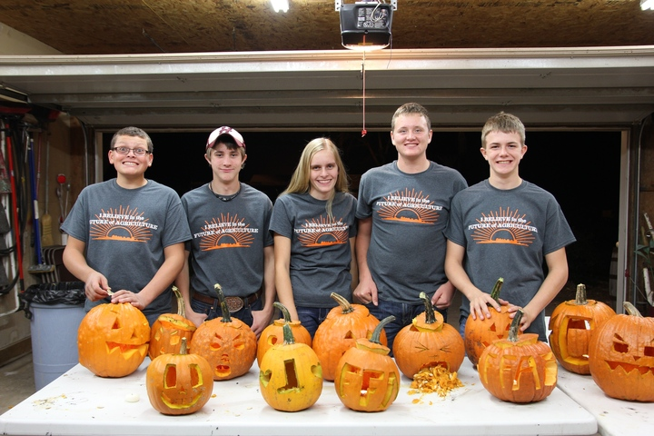 Happy Pumpkin Carving From The Hancock Ffa! T-Shirt Photo